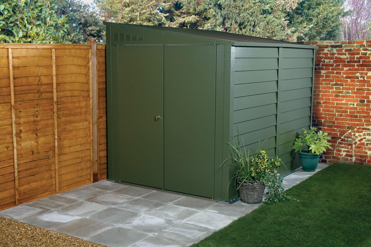 Garden Sheds Metal titan 900 garden shed range - metal sheds from trimetals